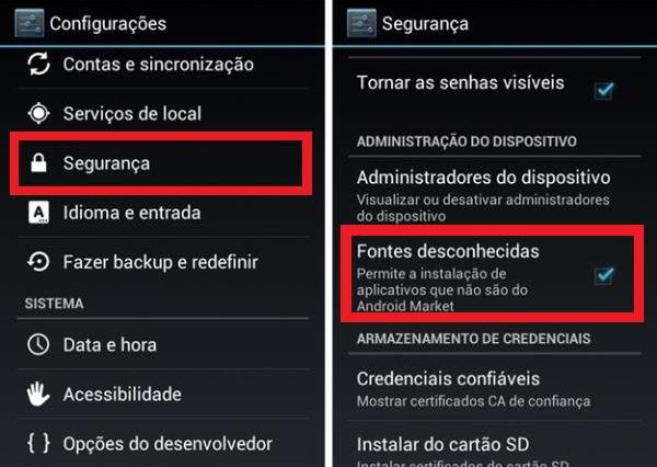 Baixar Play Store para tablet e celular Android