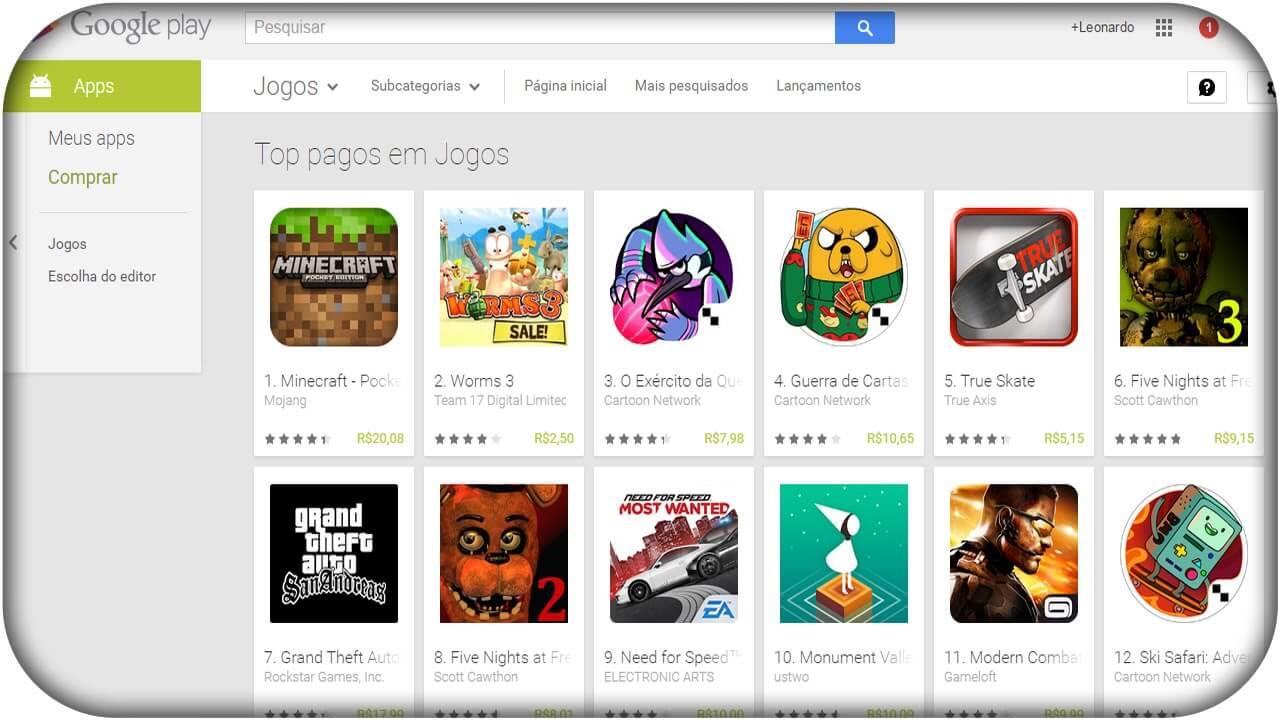 Melhores Jogos da Play Store